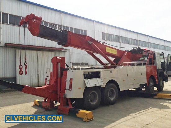 heavy duty separated tow truck
