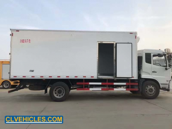 Refrigerated Van Truck