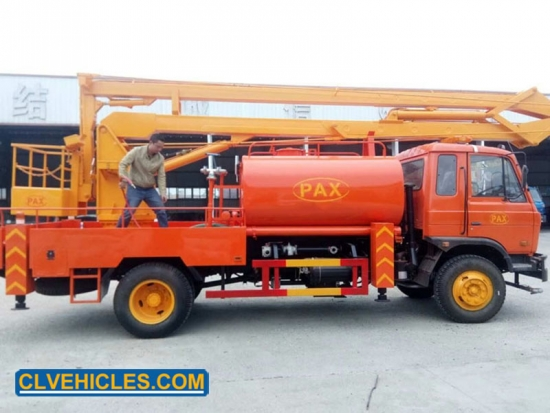 Work Platform Truck With Water Tank
