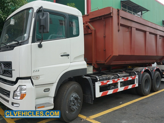 mobile garbage station truck